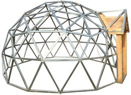 14 Foot Diameter Geodesic Dome Frame Kit