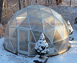 16ft Greenhouse Geodesic Dome Kit