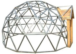 18ft Wide Geodesic Dome Frame Kit