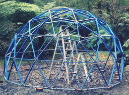 Anthony Sokolowski Steel Geodesic Dome Frame